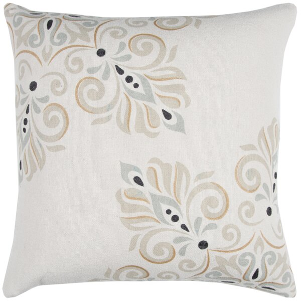 100% Cotton Throw Pillow by Donny Osmond Home